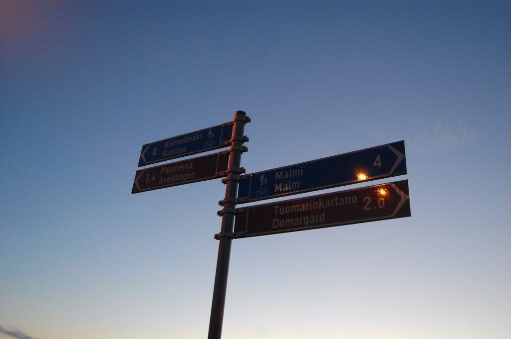 Helsingissä on erinomaiset ulkoilumahdollisuudet.