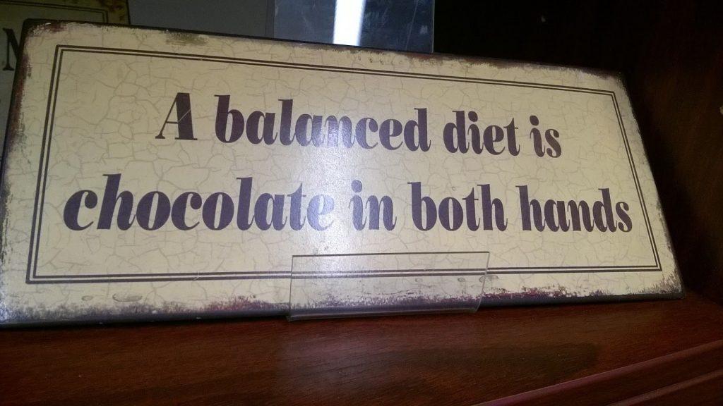 Tasapainoinen ruokavalio
